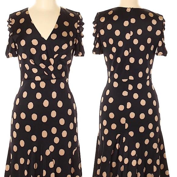 Kay Unger Dresses & Skirts - Kay Unger Polka Dot Casual Dress Size 4